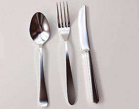 3D model Cutlery Set