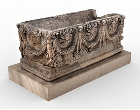 Ancient Sarcophagus 3D model