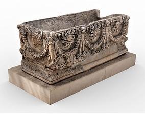 Ancient Sarcophagus 3D model
