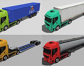 3D asset New Truck