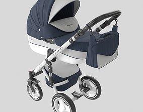 Baby carriageriko - riko brano ecco 3D model