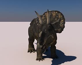 Diceratops Dinosaur 3D model