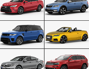 3D model My Car Collection vol 2 2015