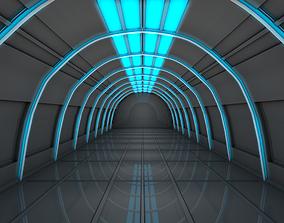 Sci Fi Corridor bio 3D model