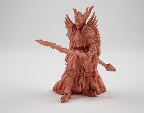 Putrid knight miniature 3D printable model