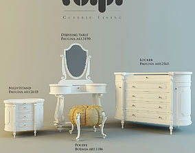 3D Set of Furniture Paolina from Volpi