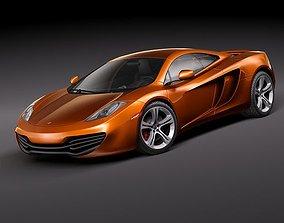 3D model McLaren MP4-12c 2010