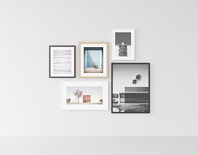 Picture Frames Architecture 3D model