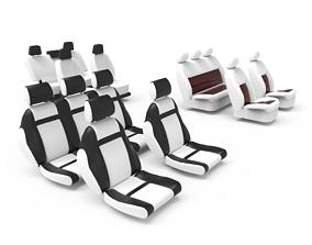 3D model Car Seat 1