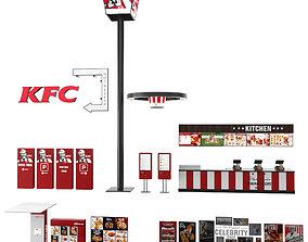 KFC Element 3D model