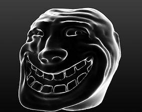 3D printable model Trollface