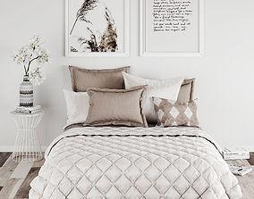 Bedroom set 13 decor 3D model