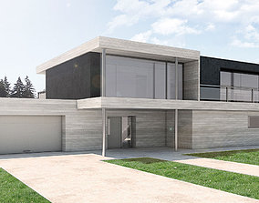 3D print model Modern house by VV