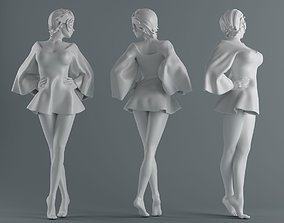 Women wear skirts 002 3D printable model
