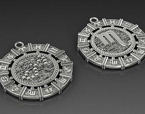 3D printable model Suspension of the zodiac