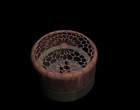 3D printable model Wooden ring box with bars