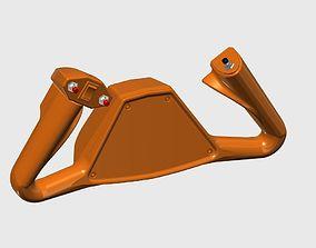 Editable Beechcraft King Air Yoke V1 3D print model