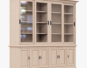 3D model GRANGE TW004 1904 bookcase