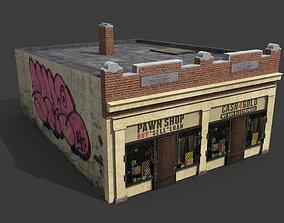 Pawn Shop 3D asset