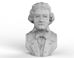 Ludwig van Beethoven Bust 3D printable model musician