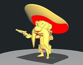 3D printable model Cowboy Yosemite Sam