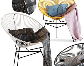Cult Furniture Armando Chair 3D