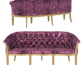 3D model sevensedie augusto sofa