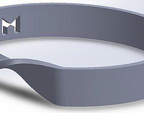 3D print model MILOSAURUS Jewelry Mobius Strip Pendant