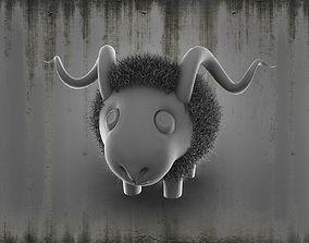 sheep 3D model mammal