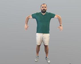 No51 - T Pose Man 3D model