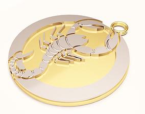 3D printable model scorpion
