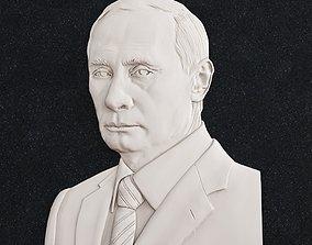 Vladimir Putin sculptures 3D print model
