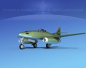 Messerschmitt ME-262A1 Swallow V07 3D model