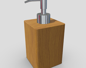 3D asset Soap Dispenser 5