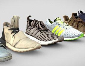 Adidas shoes Bundle 3D asset