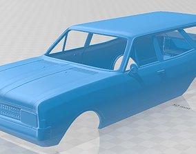 Opel Rekord Wagon 1967 Printable Body Car