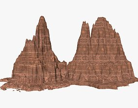 Canyon 3D Model nature