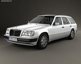 3D model Mercedes-Benz E-class Wagon 1993