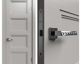 3D model Internal door Academy Medea 5 doors 3