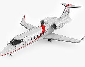 3D Bombardier Learjet 60