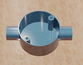 Through Conduit Box -20mm metal 3D printable model