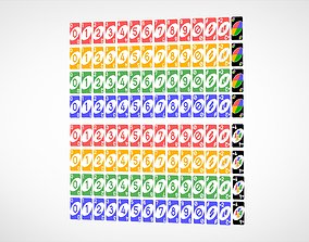 3D Uno Cards
