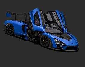 3D asset 2018 McLaren Senna