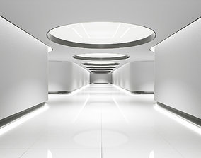 Hallway 001 UE4 3D