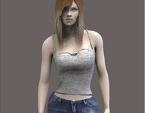 Casual Women 3D model