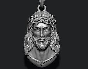 3D print model Jesus pendant v4