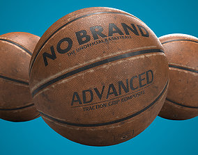 Used Basketball 3D