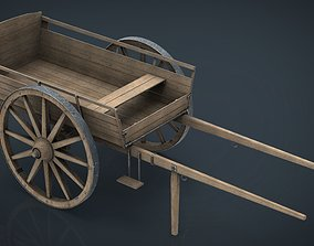 FARM CART 3D model