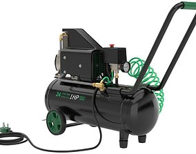 Air Compressor 1 Textured 1 3D