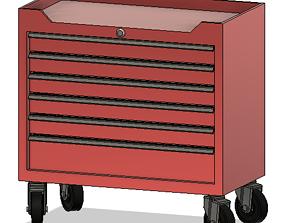 3D print model Garage tool box S